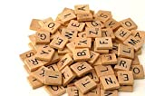 Kyпить 500 Wood Scrabble Tiles - NEW Scrabble Letters - Wood Pieces - 5 Complete Sets - Great for Crafts, Pendants, Spelling by Fuhaieec(TM) by flyco на Amazon.com