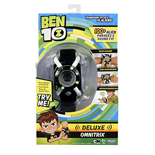 Ben Ten Costume (Ben 10 Deluxe Omnitrix)