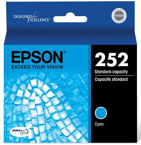Epson T252220 DURABrite Ultra Cyan Standard Capacity Cartridge Ink ()