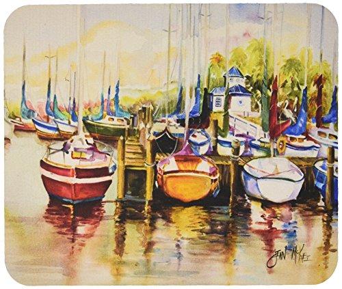 Price comparison product image Caroline's Treasures Paradise Yacht Club II Sailboats Mouse Pad/Hot Pad/Trivet (JMK1064MP)