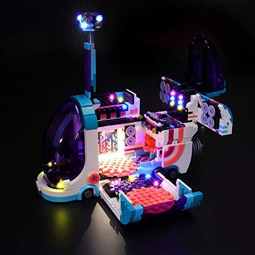 Conjunto de luces LIGHTAILING para bloques de construcción (Lego Moive 2 Pop-Up Party Bus) Modelo - Kit de luces LED Compatible con Lego 70828 (NO incluido el modelo)