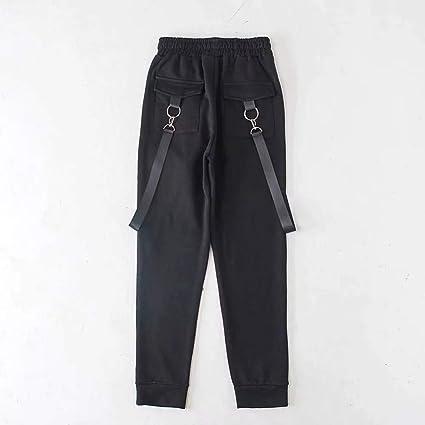 CKBYTH Pantalons Sarouel Streetwear Pantalon Cargo en Coton