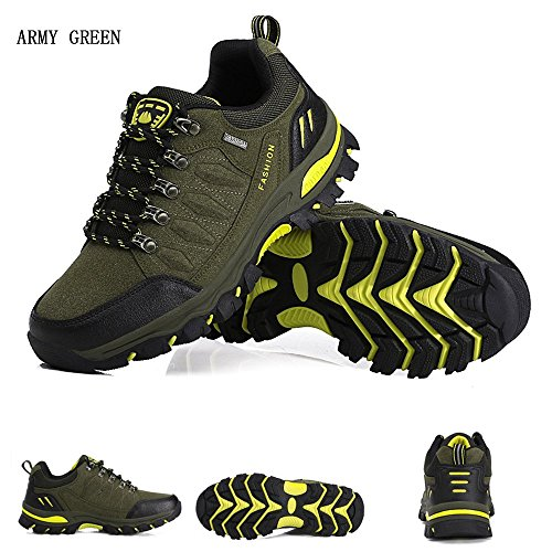 Escursionismo All'aperto da Donna WOWEI da Trekking Verde Uomo Arrampicata Sportive Sneakers Scarpe 88XzgE