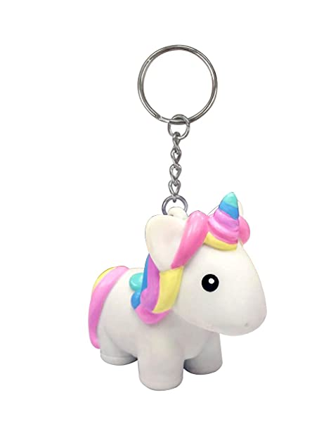 Amazon.com  Squeeze and Poop Glittered Poop Mini Unicorn Toy Figure Keychain  - 1 Randomly Selected  Toys   Games f75dcb751c