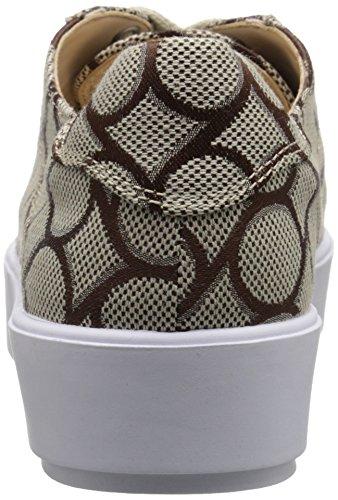 Neuf Ouest Vallée Des Femmes Denim Mode Sneaker Naturel Brun