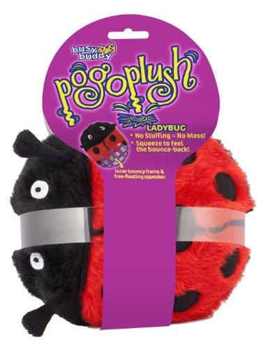Premier Pogo Plush Ladybug Dog Toy, Large, My Pet Supplies
