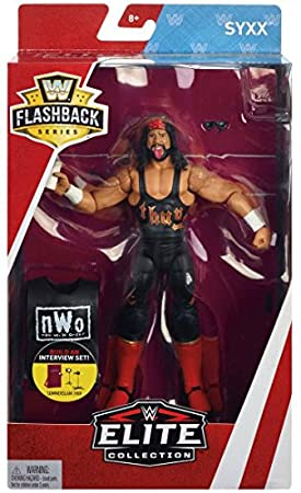 WWE Flashback Limited Edition - Syxx nWo X-Pac - Walmart Exclusive Action Figure Wrestling