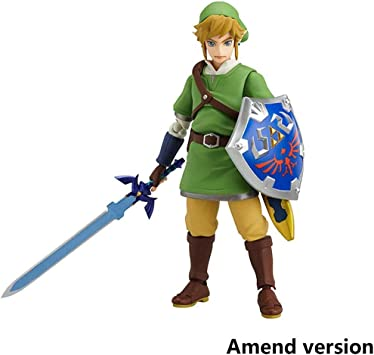 Lilongjiao La Leyenda De Zelda: Skyward Sword Enlace Figma Acción del PVC Figure - Altos 5,9 Pulgadas: Amazon.es: Juguetes y juegos