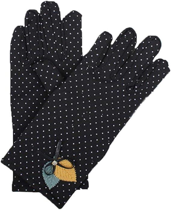Femmes Gants écran tactile 100/% coton Taille unique élégant Chaud Hiver Polaire Doublé