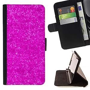 Momo Phone Case / Flip Funda de Cuero Case Cover - Patrón Universo Modelo de estrellas - HTC One A9