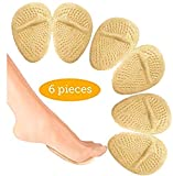 Metatarsal Pads - Ball of Foot Cushions - High Heel Cushion - High Heel Inserts for Callus Prevention - Foot Pain Relief Soft Forefoot Pads