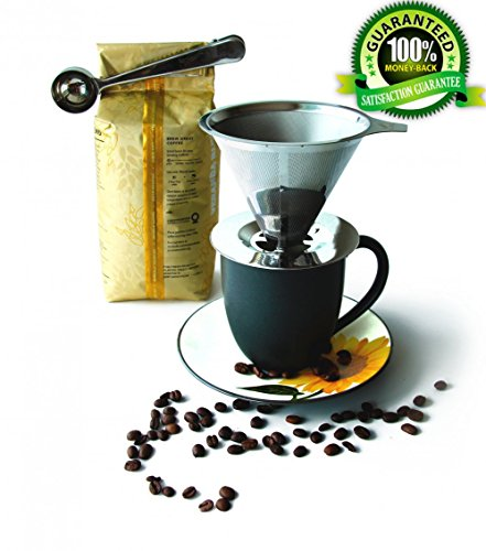 Coffee Dripper Stainless Steel Permanent