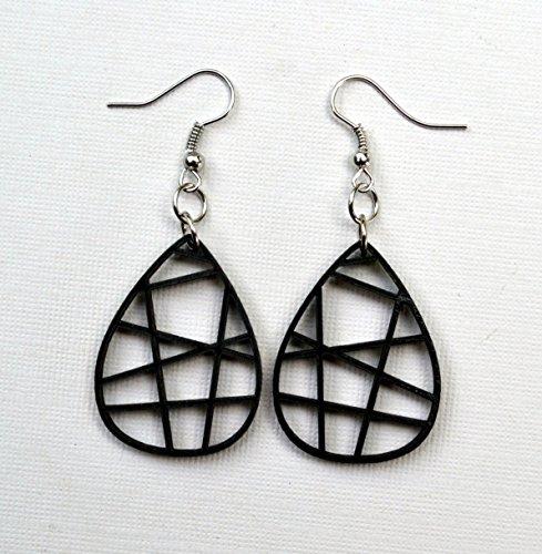 wood-teardrop-grid-earrings-from-black-stained-maple