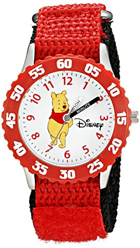 Time Teacher Watch Friends (Disney Kids' W000099 Winnie the Pooh & Friends Stainless Steel Time Teacher Watch)