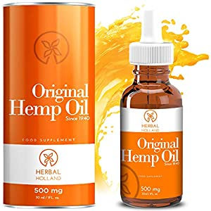Hemp Oil Drops by Herbal Holland for Pain Anxiety ...