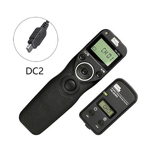 Pixel TW-283/DC2 LCD Wireless Shutter Release Timer Remote Control for Nikon D3100 D3200 D3300 D5000 D5100 D5200 D5300 D5500 D90 D7000 D7100 D7200 D600 D610 D750