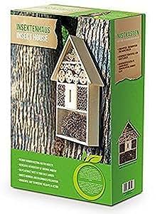 Eifa XXL 50 cm para insectos Nido Natural/insectos Casa de madera para mariquitas, mariposas, abejas y otros animales: Amazon.es: Productos para mascotas