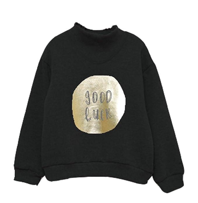 Suéter de Jersey de Manga Larga con Estampado de Niñas bebé 2c1eb60e1049e
