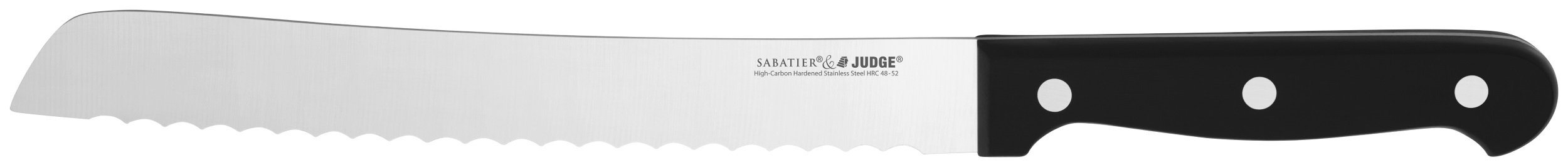 Judge Sabatier Bread Knife 20cm 1 Bread Knife Stainless Steel 20cm