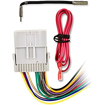 51VA16h7rFL._SL500_AC_SS350_ amazon com metra 70 2003 radio wiring harness for gm 98 08 Aftermarket Radio Wire Harness Adapter at crackthecode.co