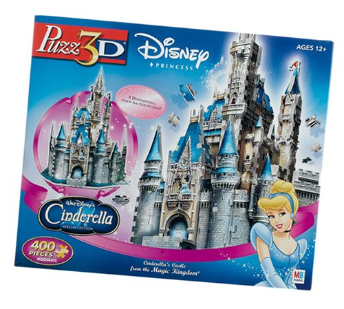 Puzz 3D Cinderella ® ¡s Castle Hasbro Gaming 44249