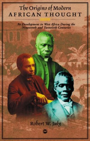 The Origins of Modern African Thought pdf