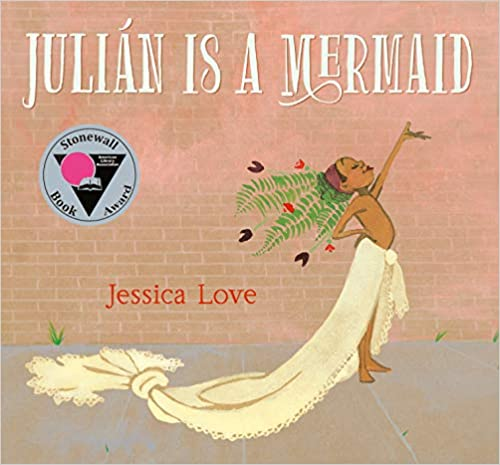 cover image, Julián is a Mermaid