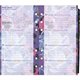Filofax Personal Floral Illustrated 2021 Diary