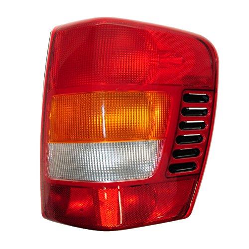 Taillight Taillamp Brake Light Passenger Side Right RH for 99-03 Grand Cherokee