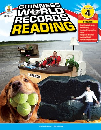 (Carson-Dellosa Publishing Guiness World Records™ Reading)