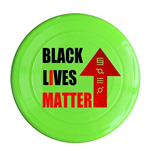RCINC Black Lives Matter Outdoor Game Frisbee Flyer Frisbee KellyGreen (Wham Card Christmas)