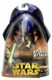 : Star Wars Episode III 3 Revenge of the Sith YODA SPINNING ATTACK Figure #26