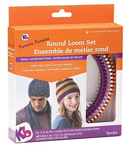 Authentic Knitting Board Premium Round Loom Set by Energi8_mar