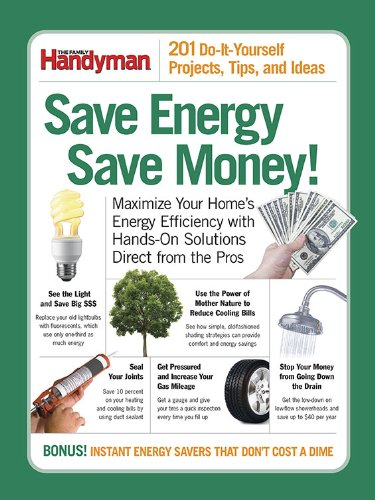 Save Energy Save Money (Family Handyman)
