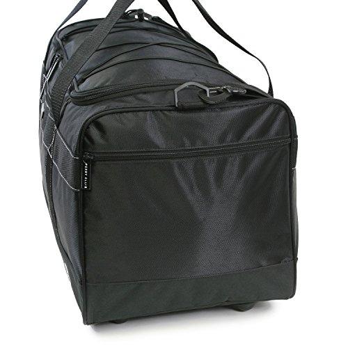 """51VA3FAujRL - Perry Ellis 22"""" Weekender Duffel Bag, Black"""