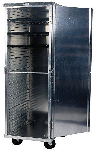 Winholt EC1824-C-CORR Enclosed Mobile Transport Cabinet, Correctional Package, 24 Pan Cap