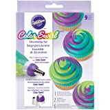 Wilton ColorSwirl 3-Color Coupler 9-Piece Decorating Kit, 2104-7072