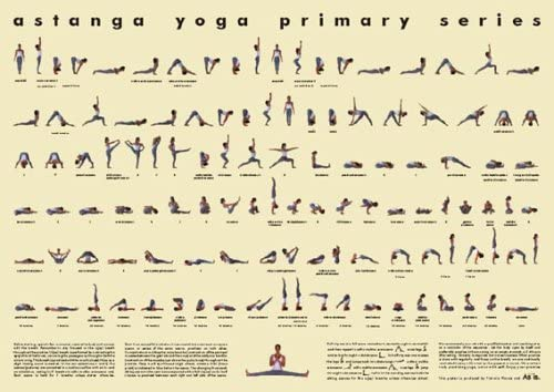 Amazon Com Vicki Picone Ashtanga Yoga Poster Small Laminated Prints Posters Prints