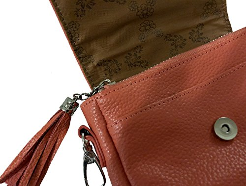 NEW Hipzbag Leather NEW Leather Coral Xqv18X