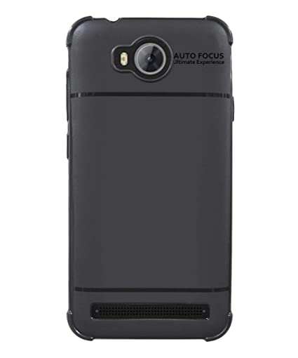 half off 3f3af e89bc COVERBLACK Back Cover for Huawei Honor Bee 2 - Black: Amazon.in ...