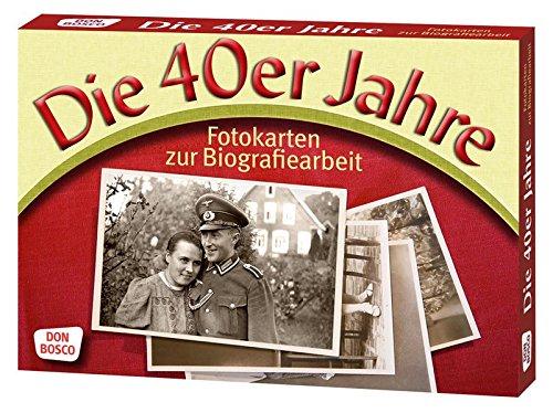 Die 40er Jahre. Fotokarten zur Biografiearbeit (Fotokarten zur Biografiearbeit / Demenz (9 x 13 cm)) (Fotokarten zur Biografiearbeit (9 x 13 cm))