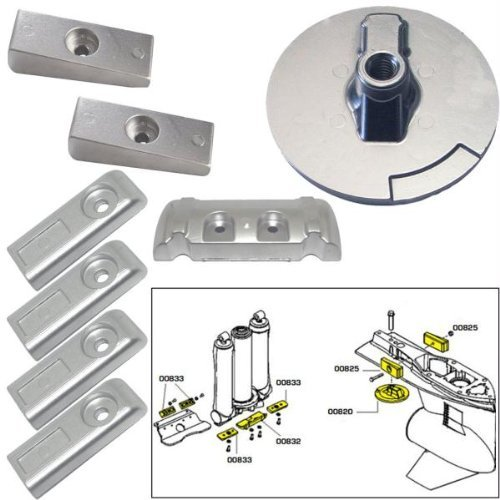Tecnoseal Anode Kit w/Hardware 20816 by Tecnoseal by Tecnoseal