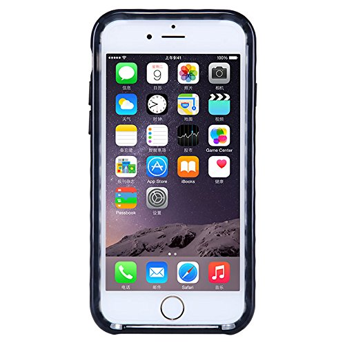 (HS-TOP  ® NILLKIN case cover soft candy Conque Back cover Hülle für Apple iPhone 6 (4,7 Zoll) schwarz