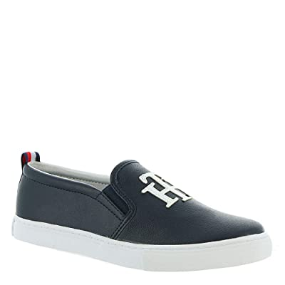 Amazon.com | Tommy Hilfiger Lucey3 Black 2 9.5 | Fashion Sneakers