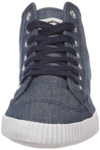 Shulong - Zapatillas de tela unisex Azul