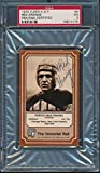 1975 Fleer HOF #4 Red Grange Certified Authentic Auto Autograph *4175 - PSA/DNA Certified - Football Slabbed Autographed Rookie Cards