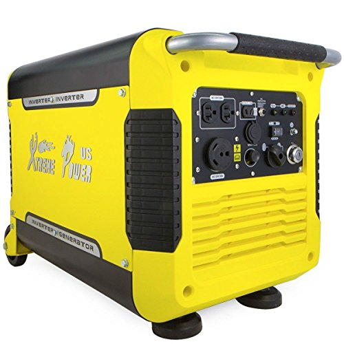 Watt Digital Inverter Generator (xtremepower generator 3000watt portable digital inverter quiet electric start)