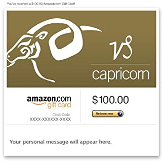 Amazon Gift Card - Email - Birthday (Capricorn: Dec. 22-Jan. 19) (B00DNHLEPM) | Amazon price tracker / tracking, Amazon price history charts, Amazon price watches, Amazon price drop alerts