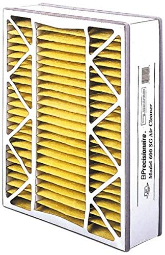16 Nom Height x 25 Nom Width x 5 Nom Depth Made in USA 4 Pack Polyester Wire-Backed Pleated Air Filter