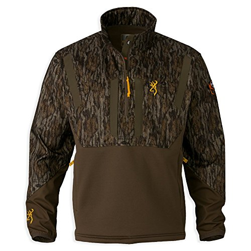 Browning 1/4 Zip Ww Timber S/S Mobl, Size: M (3016251902)